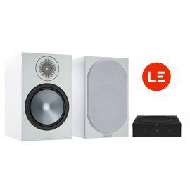 Sonos Amp + Monitor Audio Bronze 100 - Čierna/Biela