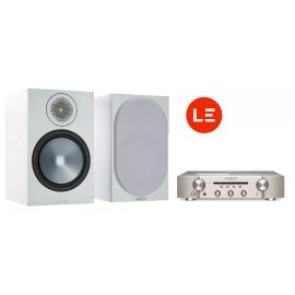 Marantz PM6007 + Monitor Audio Bronze 100 - Strieborna/Biela