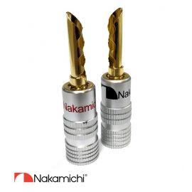 Nakamichi - Banana Plugs N0534E (8 kusů)