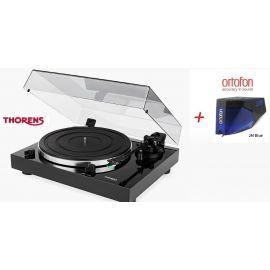 Thorens TD 202 (Ortofon 2M BLUE) - Čierna piano