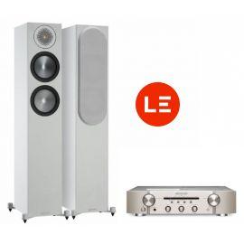 Marantz PM6007 + Monitor Audio Bronze 200 - Strieborna/Biela