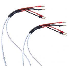 Reproduktorová sada kabelů (4 x 2,08 mm²) - 2m