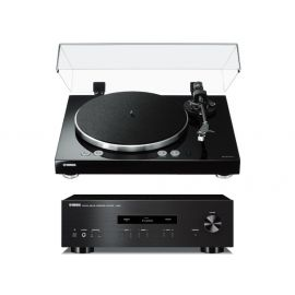 Yamaha MusicCast Vinyl 500 + A-S201 - Černá