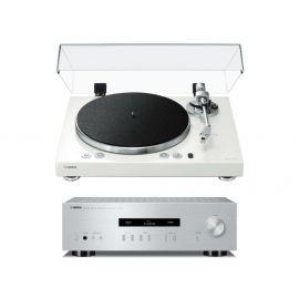 Yamaha MusicCast Vinyl 500 + A-S201 - Stříbrná