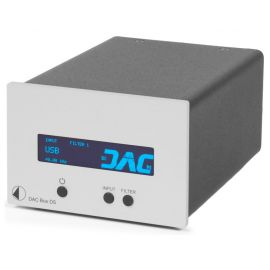 Pro-Ject DAC Box DS - Strieborna