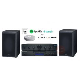 Cambridge Topaz AM5 + Topaz CD5 + Magnat Supreme 202 + Audio Pro Link 1