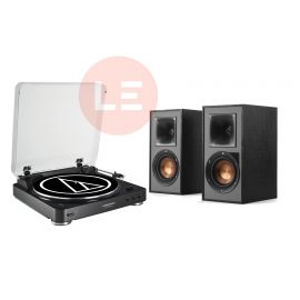 Audio-Technica AT-LP60-BT + Klipsch R-41PM