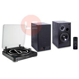 Audio-Technica AT-LP60-BT + AQ M24 Bluetooth - černá