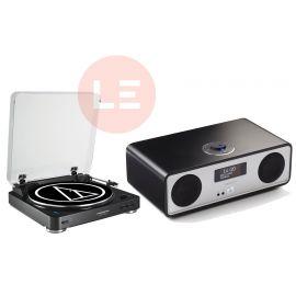 Audio-Technica AT-LP60-BT + Ruark R2 Mk3 - Černá