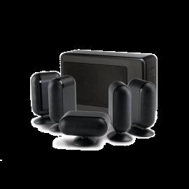 Q Acoustics 7000i 5.1 Slim - Čierna