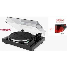 Thorens TD 202 (Ortofon 2M RED) - Čierna piano