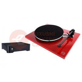 Rega Planar 3 (bez prenosky) + Fono MC - Červená