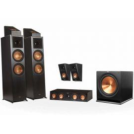 Klipsch RP-8000F set 5.1.2 Dolby Atmos® - Čierna