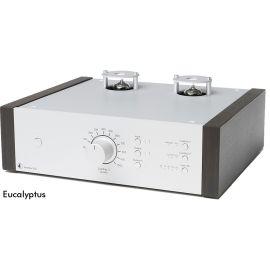 Pro-Ject Tube Box DS2 - Stříbrná / Eucalyptus