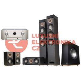 Jamo S 809 Basic Atmos 5.1.2 + Marantz SR5015 - Čierna/SilverGold