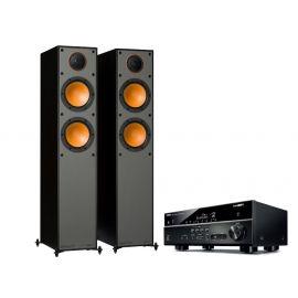 Yamaha HTR-4072 + Monitor Audio Monitor 200 - Čierna